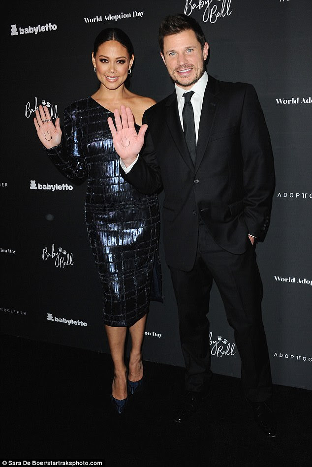 One of many: The duo had plenty of rivals for hottest couple on the night