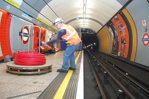 Jubilee Line works