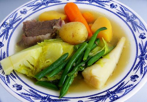 Winter Root Vegetables Boiled Dinner
