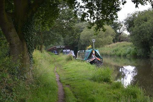 Stratford-upon-Avon Canal, Wootton Wawen