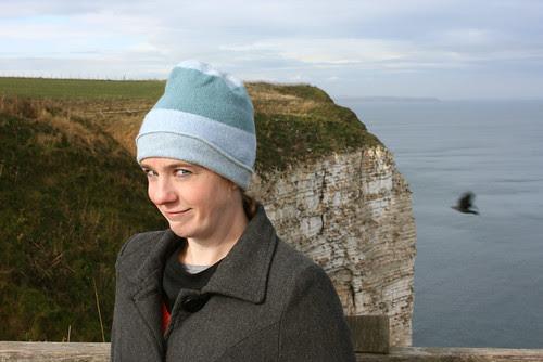 Me at Bempton Cliffs