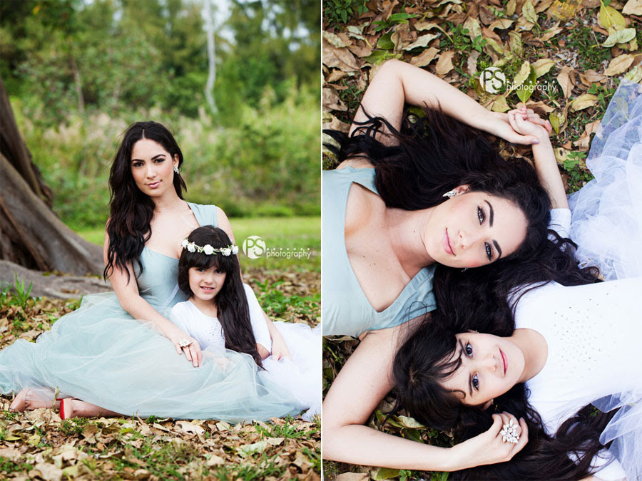 Roxette Mildred And Bea Mother And Daughter Shoot Key Biscayne