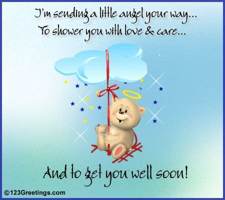 'Get Well Soon' Message. Free Get Well Soon eCards
