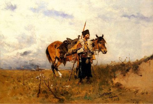 Cossack on duty