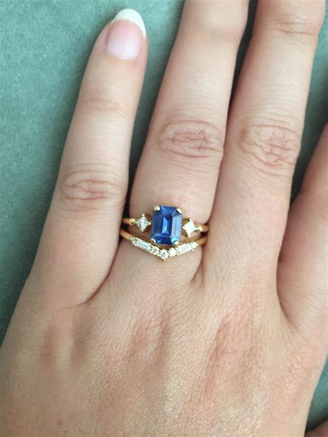 Beautiful How to Wear Wedding Band and Engagement Ring