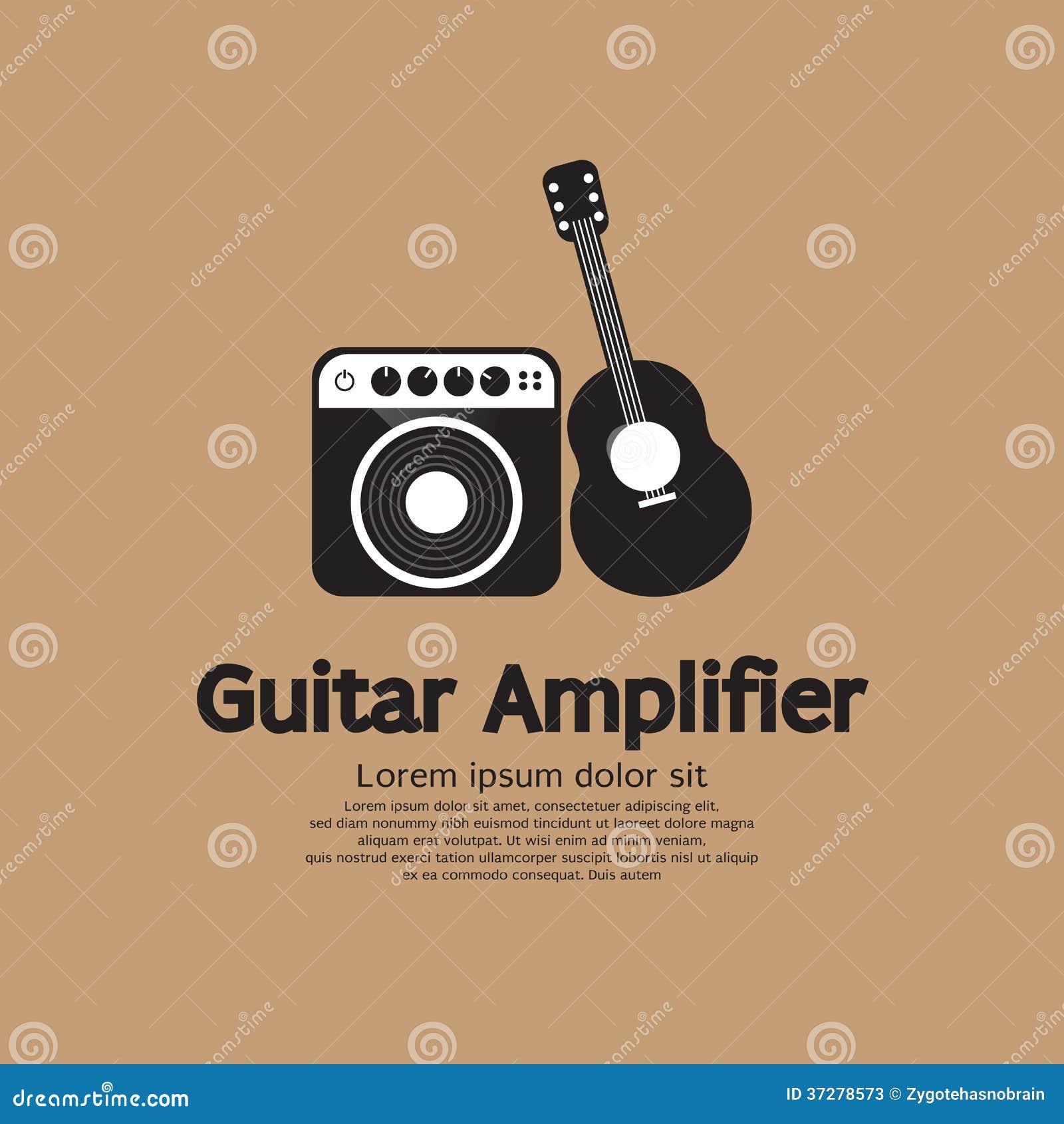 Guitar Amp Vector