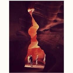 Slot canyon tours page az