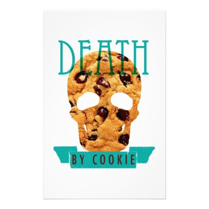 Death by cookie stationery