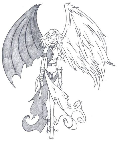 angel devil tattoo sketches tattoos   demon