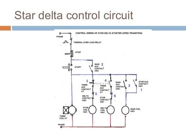 Star Delta Wiring Diagram Control Circuit Madcomics
