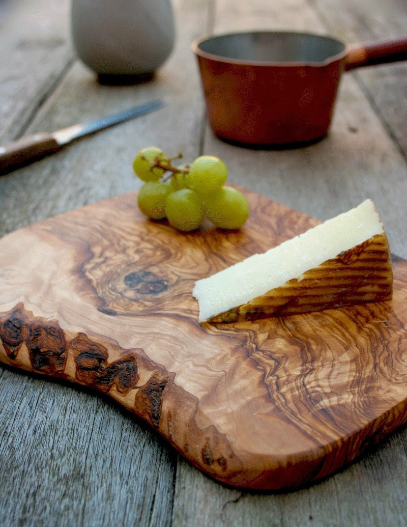 Rustic Olive Wood Chopping / Cheese / Serving / Cutting Board | The Rustic Dish | Amazon