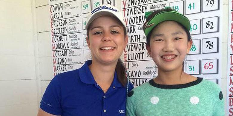 Lucy Li and Kathleen Scavo