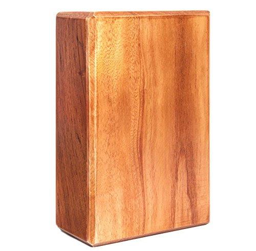 »Bhavani« yoga block of wood, 100% natural bamboo, 100% natural feel.