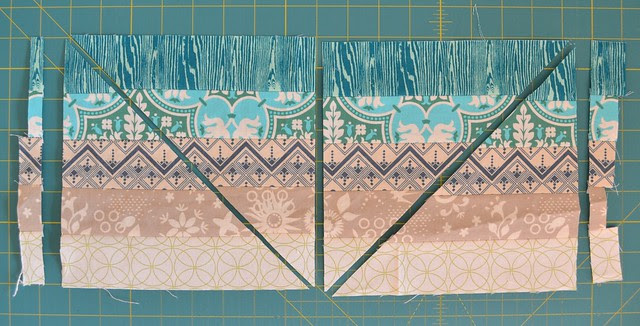 Blended Scraps Block - tutorial 6