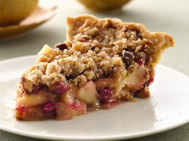 French Cranberry-Apple Pie Recipe