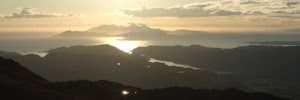 Sunset from Beinn Resipol