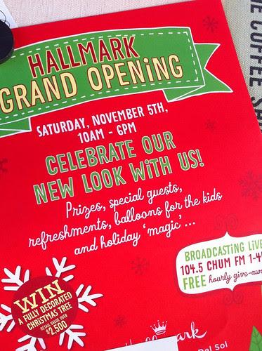 Hallmark Grand Opening