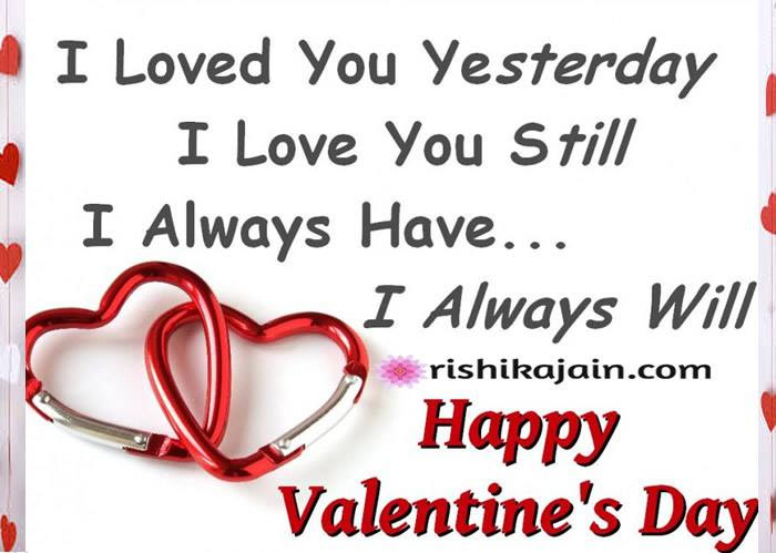 Happy Valentines Day Let Me Love You Inspirational Quotes