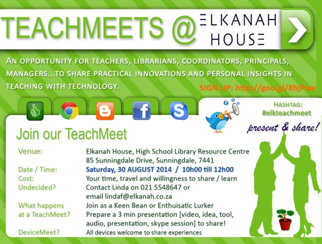 TeachMeet30AUG14