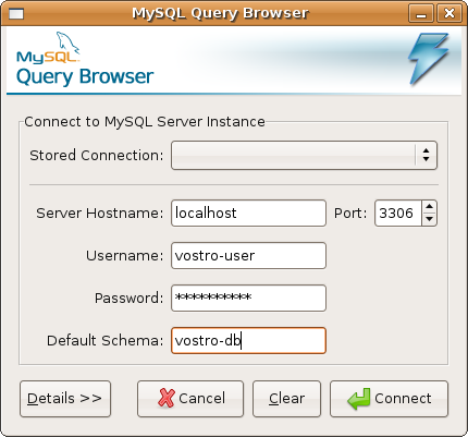 MySQL Query Browser