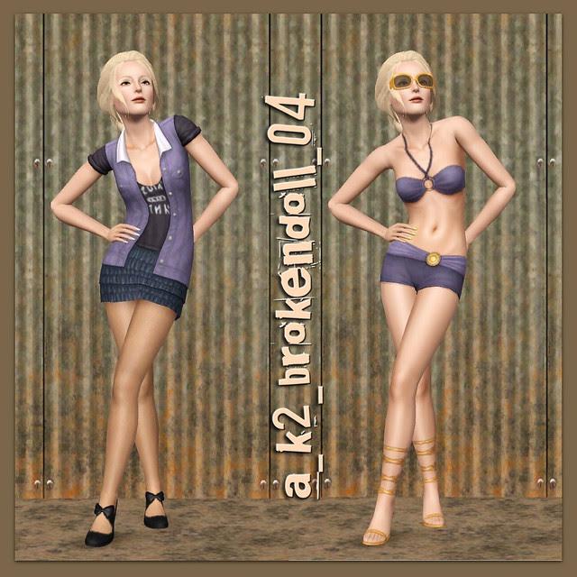 Broken Doll Pose 04