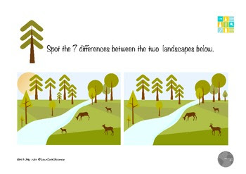 Earth Day Spot the Differences