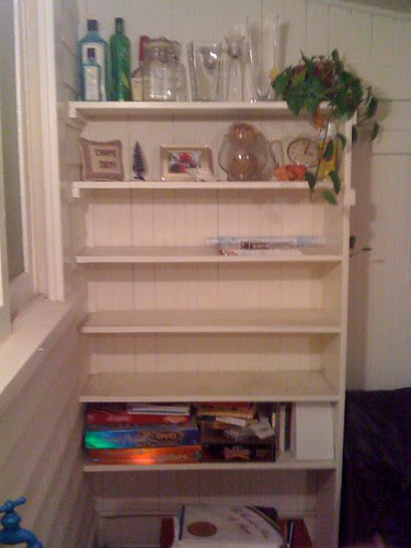 empty shelf