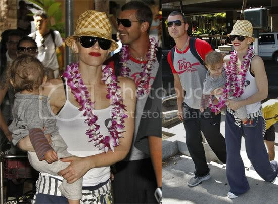 Getting relax with celebrity on vacation photo