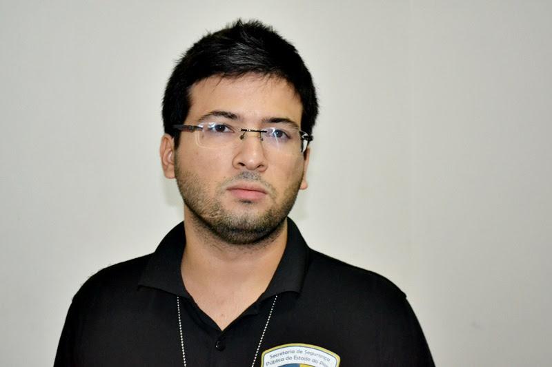 Dr. Gregory, delegado de Polícia Civil de Jaicós