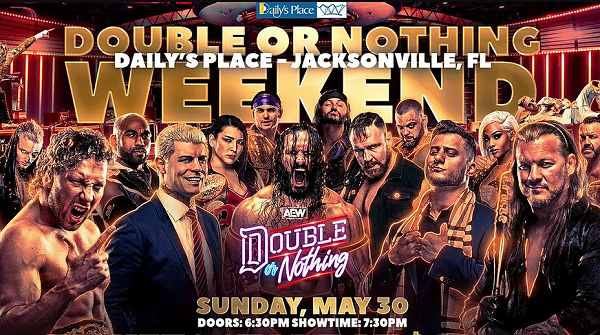 Watch AEW Double Or Nothing 2021 PPV Live 5/30/21 30th May 2021 Online Full Show Free