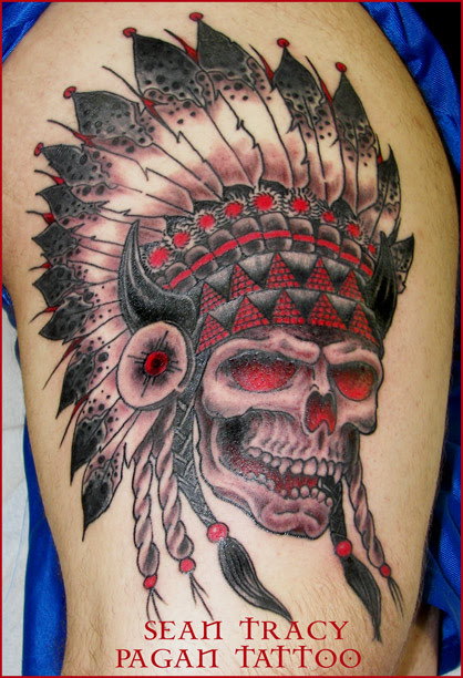 Tumblr Traditional Indian Skull Tattoo 2015