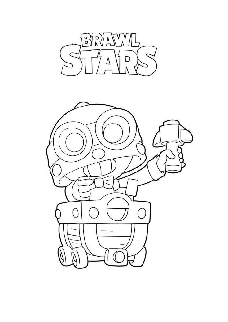 как нарисовать Brawl Stars тара - как