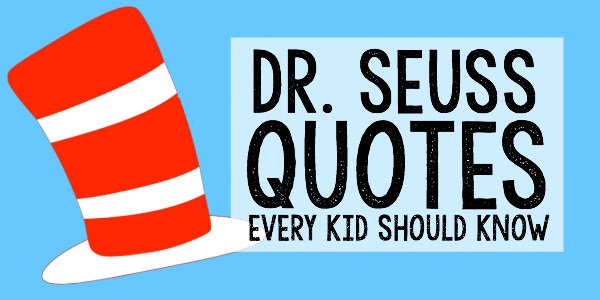 Dr Seuss Quotes For Kids Clip Art Library