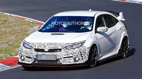honda civic type  spy shots