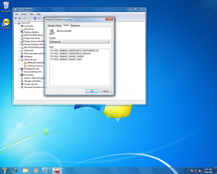 p5pe-vm drivers for windows 7 32bit