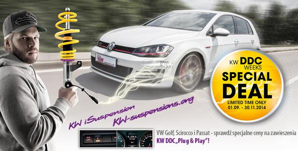 Zawieszenie KW DDC Volkswagen Golf Scirocco Passat CC