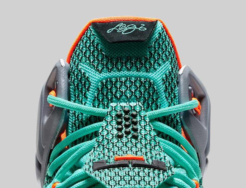 NIKE lebron 12 basketball shoe engineered for explosiveness