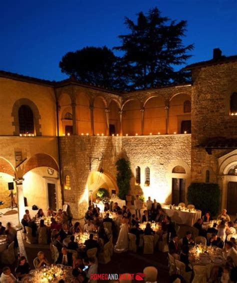 Chianti Castle   Castle Wedding Tuscany   Countryside