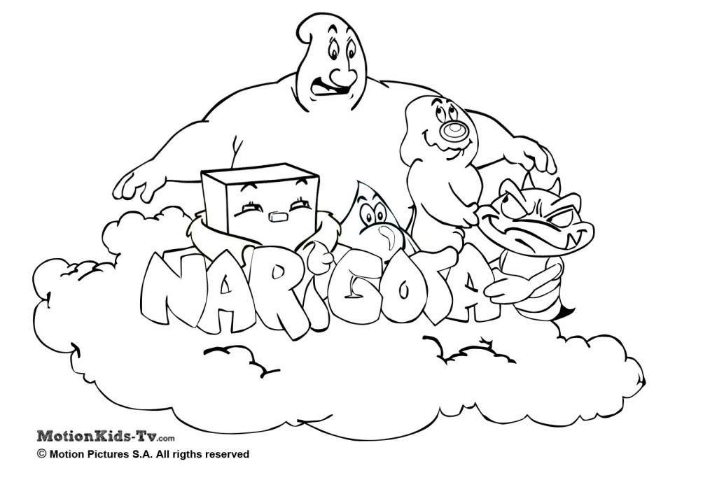 Bacterias En Dibujo Para Colorear Imagui