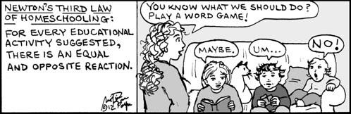 Home Spun comic strip #729