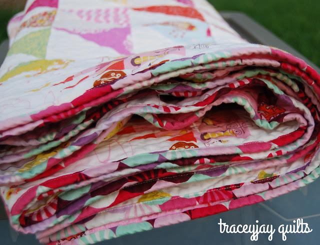 Kiley's custom quilt binding