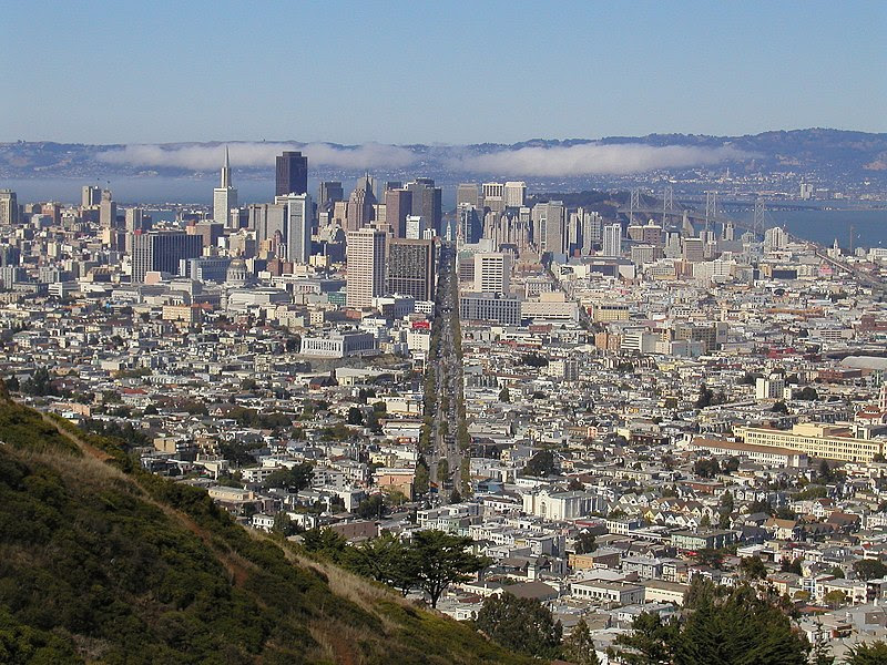File:Market Street San Francisco From Twin Peaks.jpg
