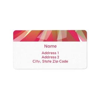 Address Labels - Abstract Etiquetas De Dirección