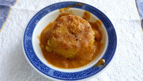 Arancina  di riso con ragù di triglie e finocchietto selvatico - Carla Magaletti