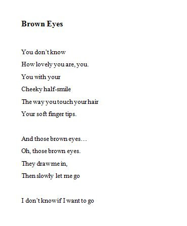 Quotes About Having Brown Eyes