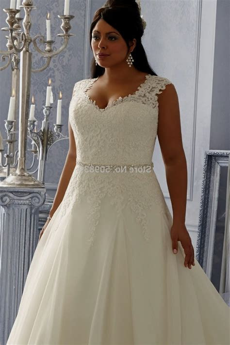 Popular Short White Plus Size Wedding Dress Buy Cheap