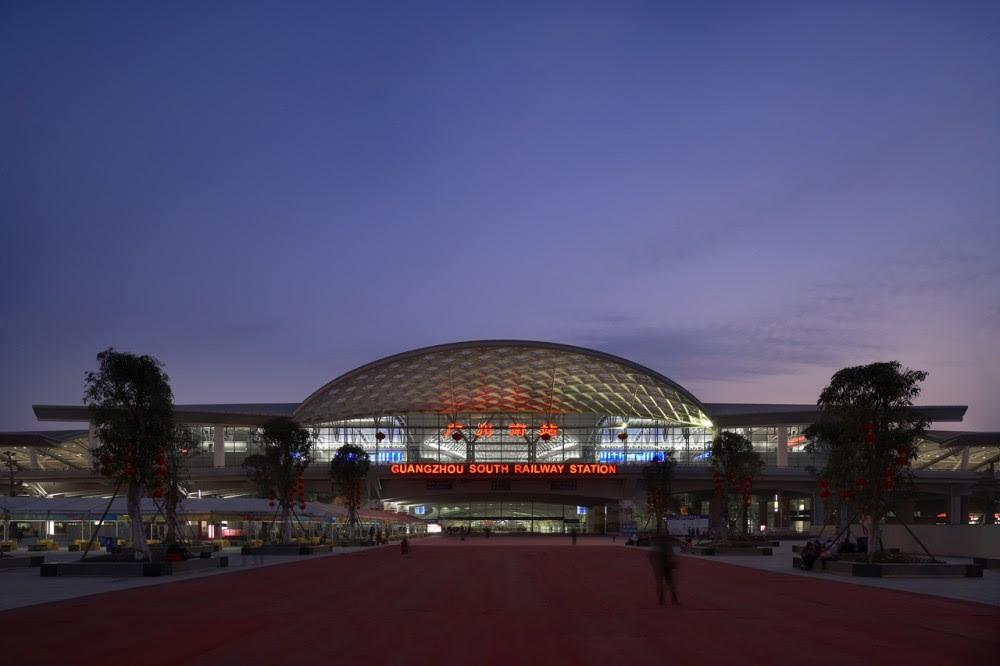 Estação Ferroviária Sul de Guangzhou/ TFP Farrells
