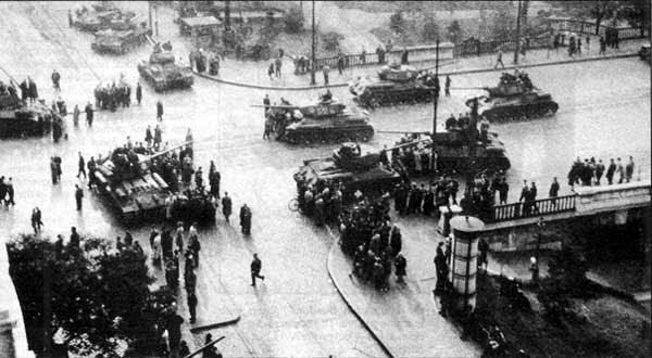 Image result for Soviets put brutal end to Hungarian revolution images