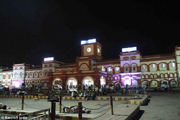 Gorakhpur railway station in Uttar Pradesh