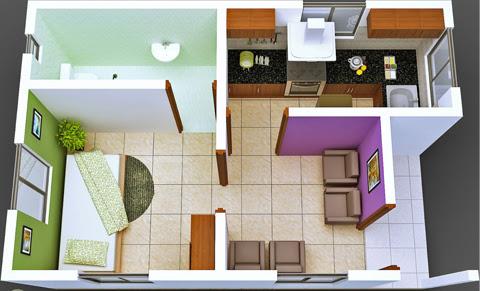 Menata Rumah Minimalis Type 21 Menjadi Lebih Luas
